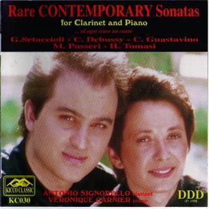 Rare Contemporary Sonatas for Clarinet and Piano