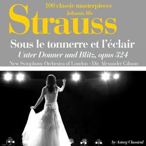 Johann Strauss : Sous le tonnerre de l'éclair, Op. 324 (Unter Donner und Blitz - 100 classic masterpieces)