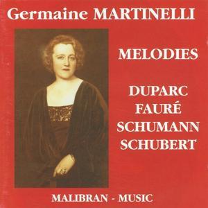 Duparc, Fauré, Schumann & Schubert : Mélodies