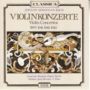 Bach : 3 concerti per violino e orchestra