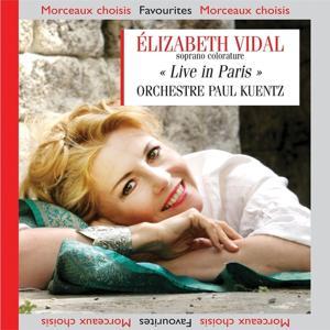 Elisabeth Vidal Live in Paris