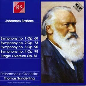 Johannes Brahms : Symphonies N° 1-4 and Tragic Ouverture