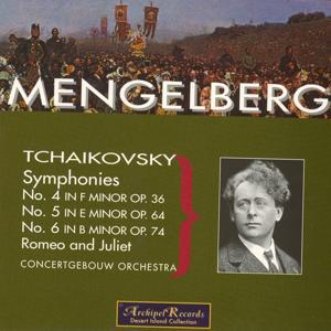 Tchaikovsky: Symphonies Nos. 4, 5 & 6, Romeo & Juliet