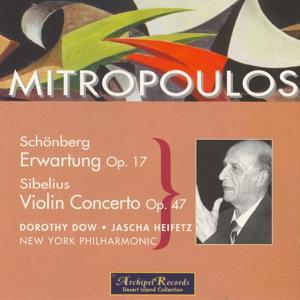 Schonberg: Erwartung - Sibelius :Violin Concerto
