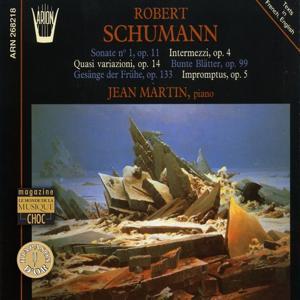Schumann : Sonate No. 1, Op. 11- Quasi Variazioni, Op. 14