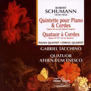 Schumann : Quintette pour piano & cordes - Quatuor à cordes