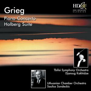 Piano Concerto in A Minor, Op.16; Fra Holbergs Tid (Holberg Suite for Strings), Op.40; Nordiske Toner for Strykeorkester [Two Norwegian Melodies for String Orchestra], Op.63