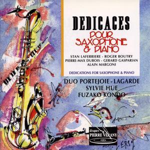 Dédicaces pour saxophone & piano