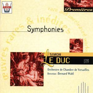 Le duc : Symphonies