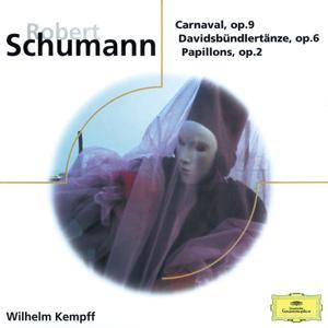 Schumann: Carnaval Op.9; Davidsbündlertänze Op.6; Papillons Op.2