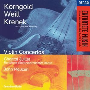 Korngold / Weill / Krenek: Violin Concertos