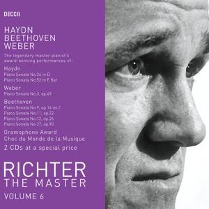 Richter plays Haydn/Weber/Beethoven
