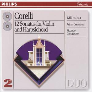 Corelli: 12 Sonatas for violin & harpsichord