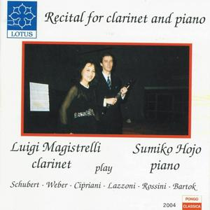 Recital for Clarinet and Piano