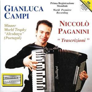 Niccolò Paganini : Trascrizioni