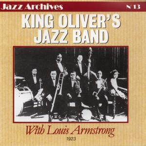 King oliver's jazz band with louis armstrong