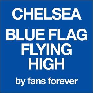 Chelea Blue Flag Flying High