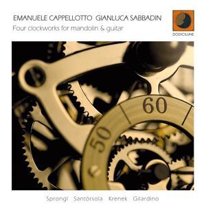 Four Clockworks for Mandolin & Guitar