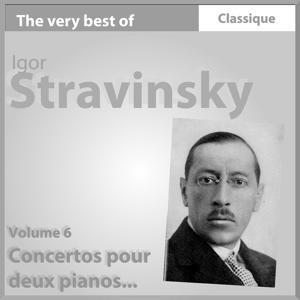 Stravinsky : Concerto pour deux pianos, Trois mouvements de Petrushka - Mozart : Fugue pour deux pianos