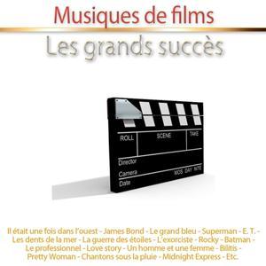 Musiques de films - Les grands succès