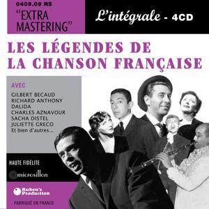 Les Légendes de la chanson Française - L'intégrale