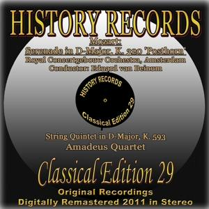 Mozart: Serenade in D Major, K. 320 'Posthorn' & String Quintet in D Major, K. 593 (History Records - Classical Edition 29 - Original Recordings Digitally Remastered 2011 in Stereo)