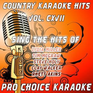 Country Karaoke Hits, Vol. 117 (The Greatest Country Karaoke Hits)