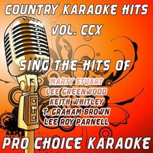 Country Karaoke Hits, Vol. 210 (The Greatest Country Karaoke Hits)