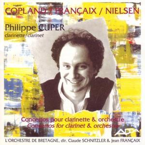 Copland, Francaix, Nielsen : Concertos pour clarinette et orchestre (Great clarinet concertos)