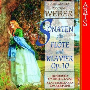Weber: Sonaten für Flöte und Klavier, Op. 10, No. 1 - 6