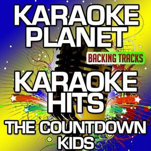 Karaoke Hits The Countdown Kids (Karaoke Planet)