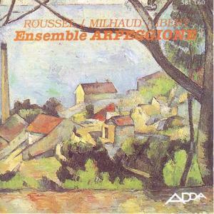 Roussel, Milhaud & Ibert : Musique de chambre (Café de flore)