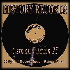 History Records - German Edition 25 (Original Recordings - Remastered)