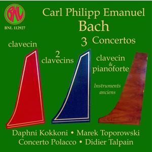 C. P. E. Bach: 3 Concertos sur instruments anciens