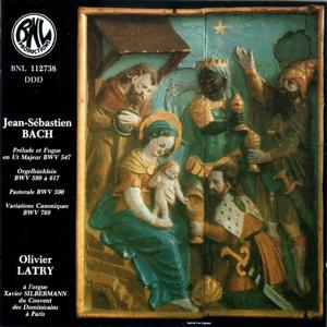 Bach: Oeuvres pour orgue pour le temps de Noël