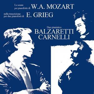 Mozart & Grieg: Sonatas for Two Pianos
