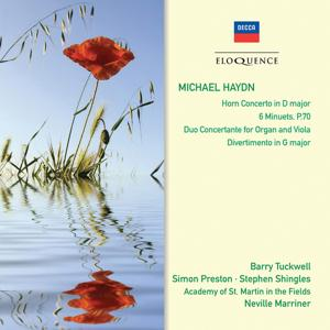 Michael Haydn: Horn Concerto; 6 Minuets