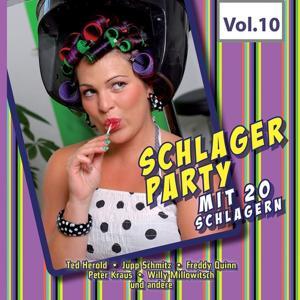 Schlagerparty mit 20 Schlagern, Vol. 10
