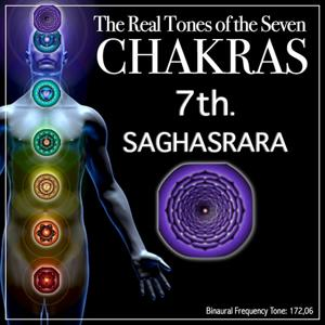 Chakra Healing - 7th Saghasrara - Crown Chakra (Real Binaural Chakra Frequency for Your Smart Healing)