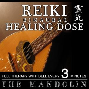 Reiki 3D Sound Binaural Healing Dose: Mandolin (1h Full Binaural Healing Therapy With Bell Every 3 Minutes)