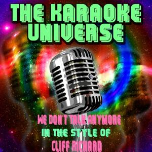 We Don't Talk Anymore (Karaoke Version) [in the Style of Cliff Richard]