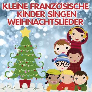 Kleine französische Kinder singen Weihnachtslieder