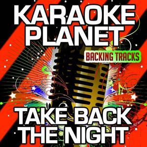 Take Back the Night (Karaoke Version) (Originally Performed By Justin Timberlake)