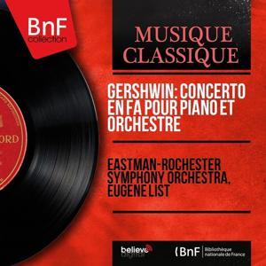 Gershwin: Concerto in F pour piano et orchestre (Collection trésors, Remastered, mono version)