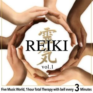 Reiki, Vol. 1 (Five Music World, 1 Hour Total Therapy With Bell Every 3 Minutes)