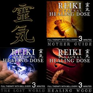 Reiki Binaural Healing Dose Collection, Vol. 17 (3h Full Therapy With Bell Every 5 Minutes)