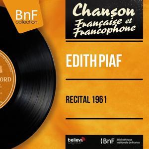 Récital 1961 (Live, Mono version)