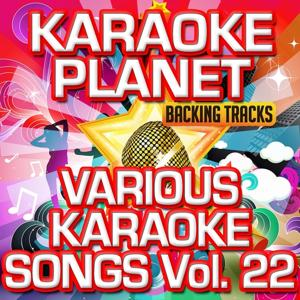 Various Karaoke Songs, Vol. 22 (Karaoke Version)