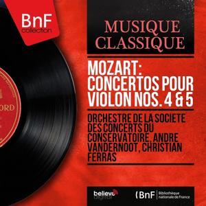Mozart: Concertos pour violon Nos. 4 & 5 (Mono Version)