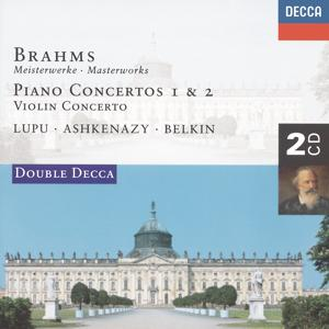 Brahms: Piano Concertos Nos.1 & 2/Violin Concerto